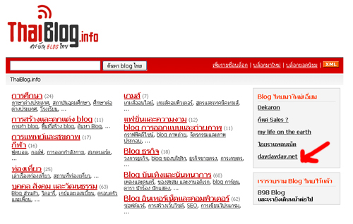  BackLink  Submit   thaiblog.info  Submit  PR4 (. 6  51 )  BackLink 